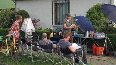 Setbesuch der ver.di FilmUnion am 6. Mai 2015