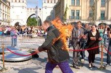 ES BRENNT – Film- und Fernsehschaffende schlugen Alarm am Münchner Stachus | 28. Juni 2013 | ver.di-FilmUnion
