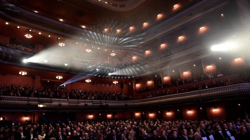 Veranstaltung zur Auszeichnung mit dem Preis »Starker Einsatz« 2014 | ver.di FilmUnion