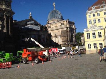 """Set von """"Werk ohne Autor"""" in Dresden"""
