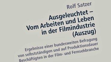 Ausgeleuchtet | Studie der ver.di FilmUnion 2007
