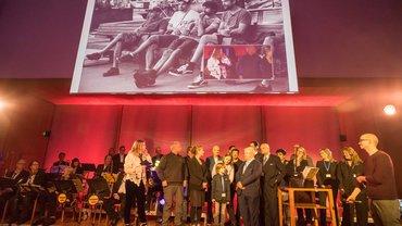 Verleihung des Fair Film Award 2017 auf dem traditionellen Berlinale-Empfang von Die Filmschaffenden