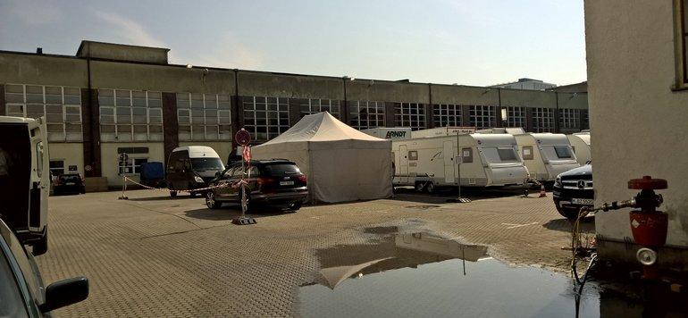 Setbesuch der ver.di FilmUnion in München am 18. März 2015