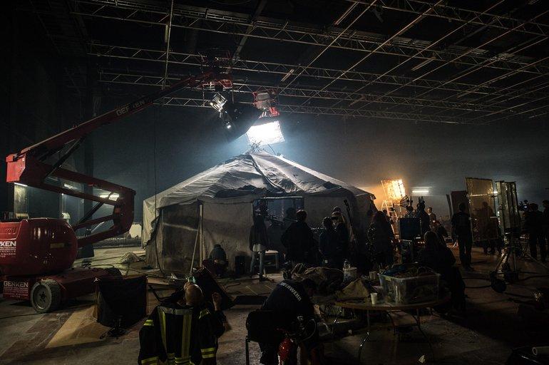 ver.di FilmUnion am Set von Winnetou, Regie von Philipp Stölzl