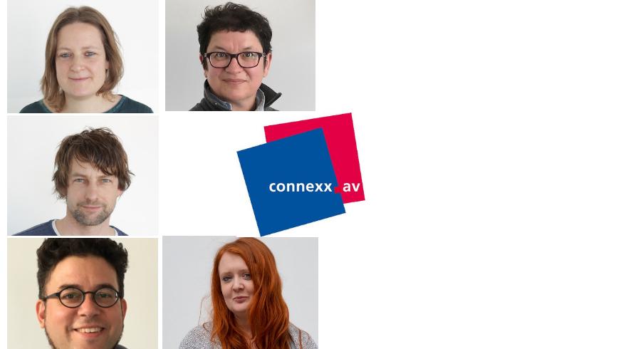 Das Team von connexx.av und der ver.di-FilmUnion