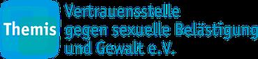 Logo der Themis Vertrauensstelle gegen sexuelle Belästigung und Gewalt e.V.