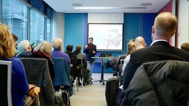 Info-Veranstaltung zur Pensionskasse Rundfunk von ver.di und BFFS